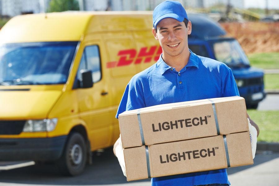 Wysyłka opraw oświetleniowych Lightech Polska